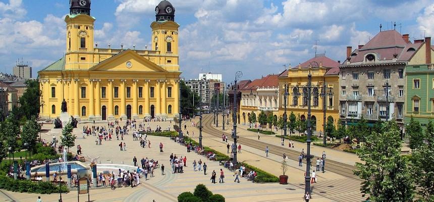 Debreceni főtér