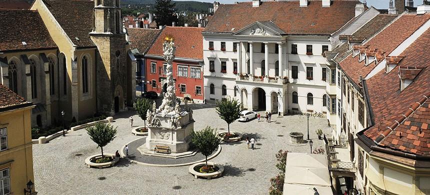 Sopron - főtér