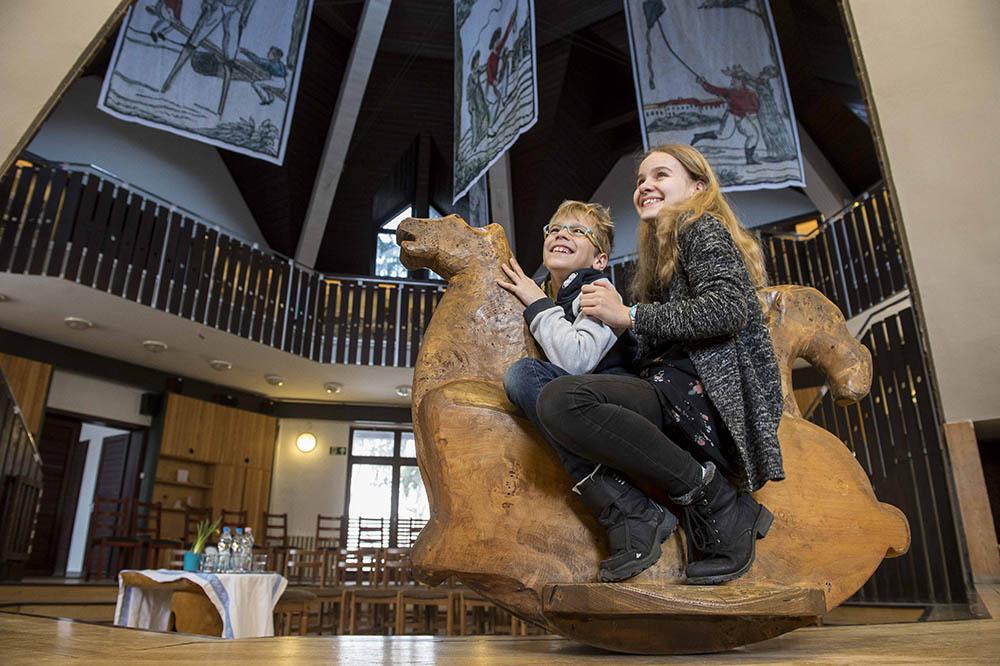 Szórakaténusz Játékmúzeum és Műhely átadása