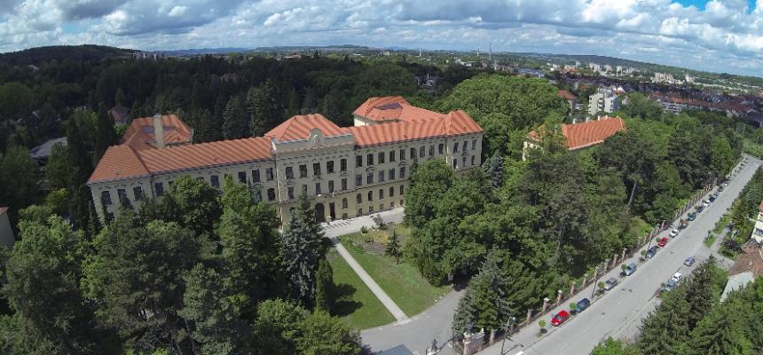 légipanoráma Nyugat Magyarországi Egyetem