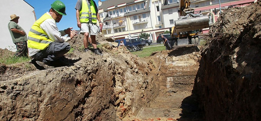 Megtalálták a 17. századi Egerszeg vár falait